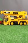 Машинки строят домик - Подъемный кран